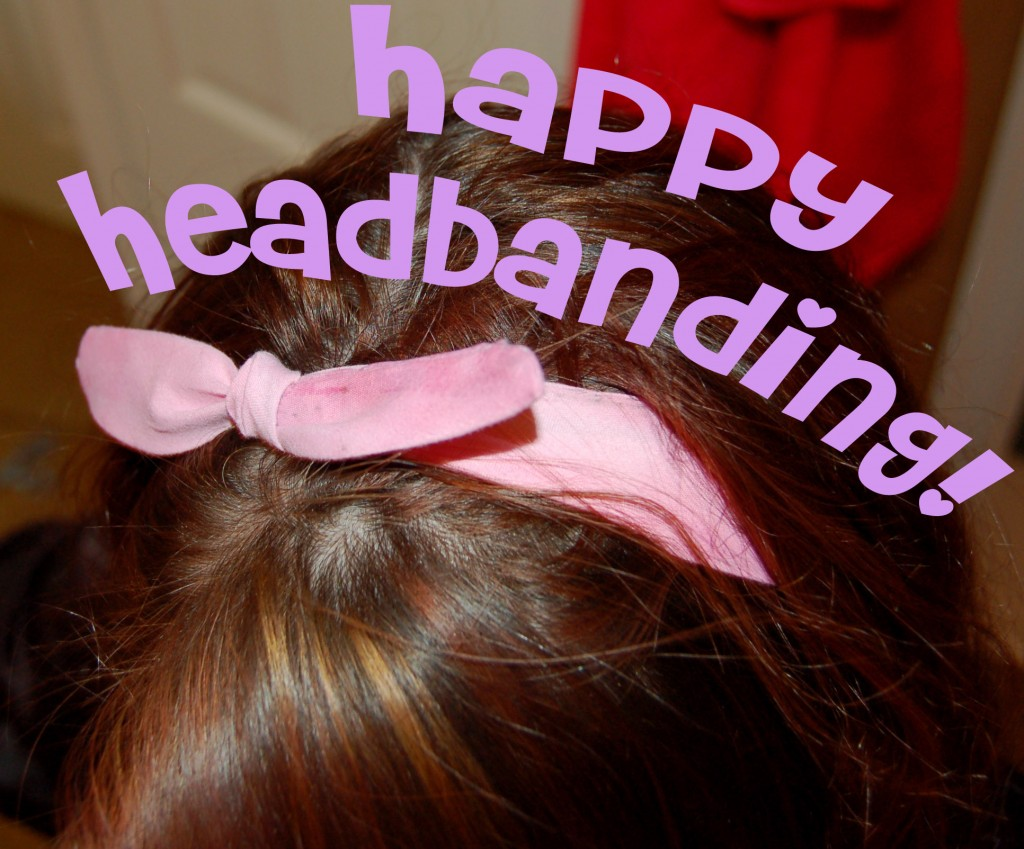 Retro Headband- Happiness Homemade